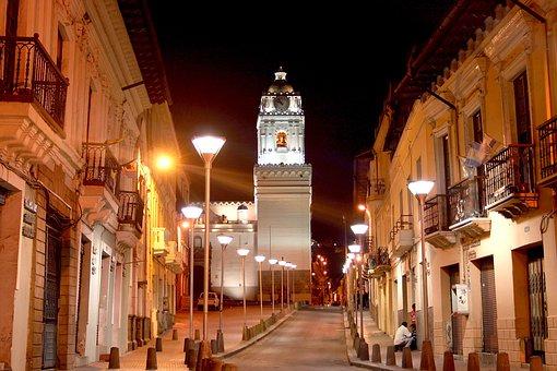 Quito Ecuador, Church, The Merced, Historic Centre