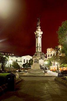 Quito Ecuador, Historic Centre, Independence Square