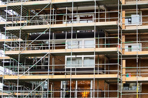 Scaffold, Scaffolding, Builder, Worker, Rigger
