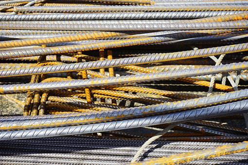 Iron Rods, Reinforcing Bars, Steel For Construction