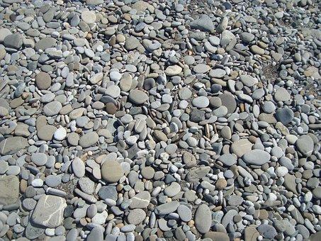Sochi, Beach, Stones