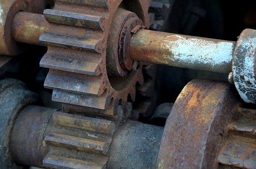 Gears, Claw, Cogwheel, Technology, Metal, Industry