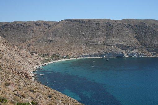 Cala San Pedro, Níjar, Cabo De Gata, Beaches, Tourism