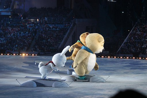 Sochi, The Olympic Symbol, Toys, Hare, Bear
