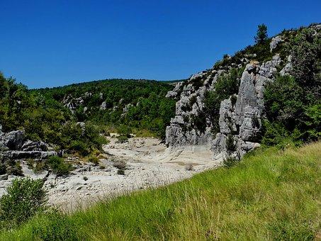 Artuby, Verdon, River, Gorge, Valley, Rocks, Landscape