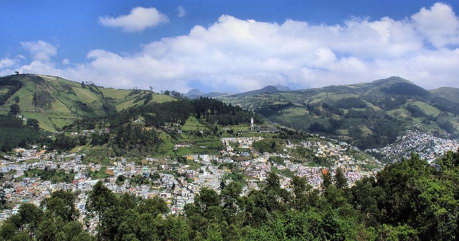 Ecuador, Quito, Volcano, Active Volcano, Pichincha