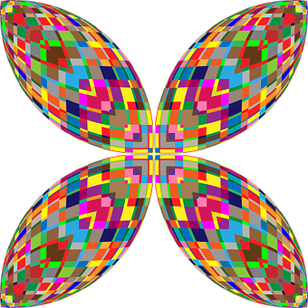 Abstract, Geometric, Butterfly, Wings