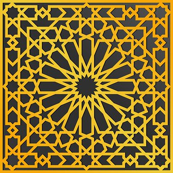 Islamic, Pattern, Design, Mandala, Arabic, Ornament