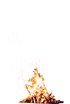Campfire, Fire, Camping, Flames, Burn, Burning