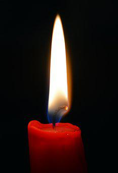 Candle, Flame, Fire, Candlelight, Dark, Light, Burn