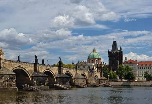 Bridge, River, Architecture, Charles Bridge