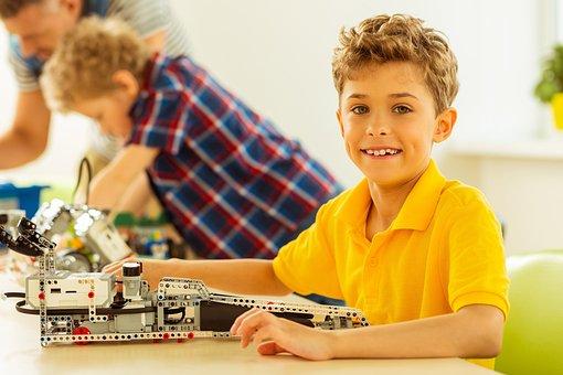 Boy, Kid, Child, Toys, Stem, Kit
