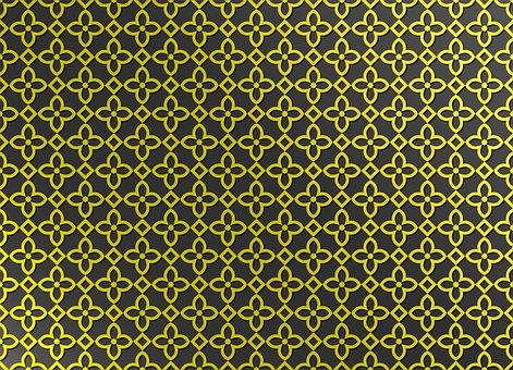 Islamic, Pattern, Design, Arabic, Ornament, Decoration