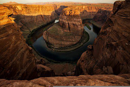 Canyon, River, Park, National Park, Destination, Gorge