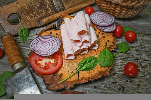 Meat, Food, Culinary, Gourmet, Ham, Pork, Fresh, Meal
