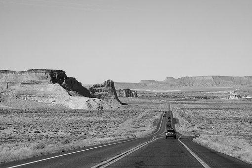 Road, Highway, Trip, Journey, Vacation, Desert