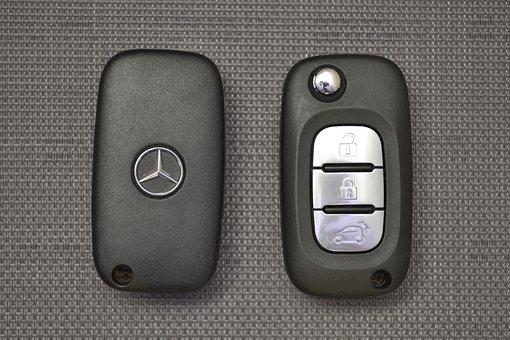Keys, Mercedes-benz, Car Keys, Electronic Keys