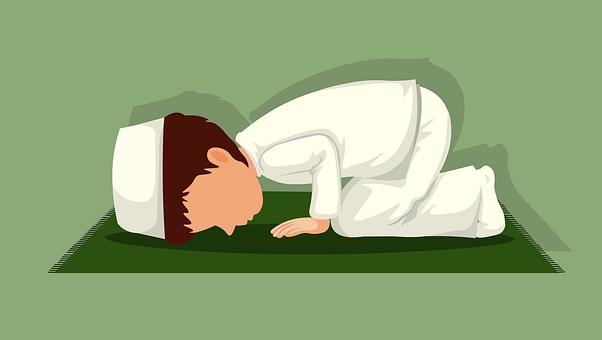 Boy, Rug, Sacred, Prayer, Worship, Pray, Qibla, Allah