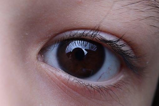 Eye, Child, Pupil, Iris, Eyelashes, Face, Look