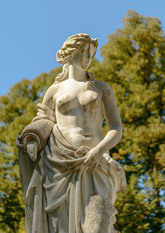 Statue, Woman, Naked, Girl, Female, Sculpture