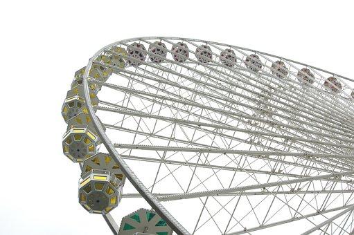 Ferris Wheel, Ride, Gondola, Wheel, Amusement Park
