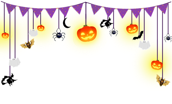 Halloween, Banner, Decoration, Decor, Party, Pumpkin