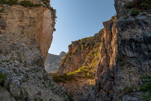 Gorge, Cliff, Nature, Canyon, Mountains, Mountain Range
