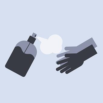Hand Sanitizer, Alcohol, Icon, Sanitize Icon