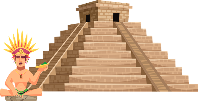 Aztec, Mayan, Temple, Architecture, Monument, Pyramid