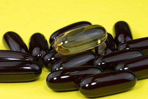 Capsules, Medicine, Supplement, Vitamins