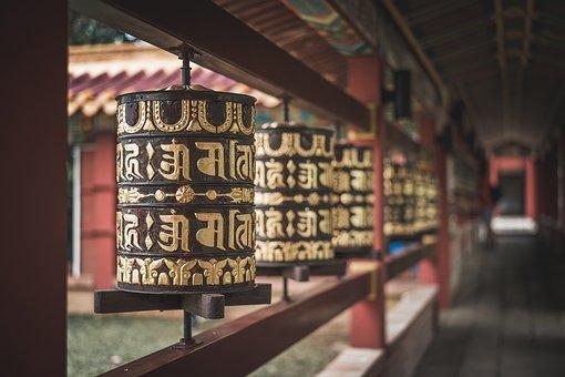 Temple, Gold, Buddhism, Buddhists, Meditation, Religion