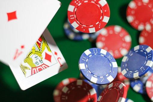 Poker Chips, Cards, Poker, Blackjack, Hold'em, Chips