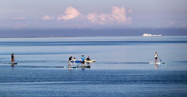 Standup Paddleboarding, Sport, Sea, Ocean, Water Sport