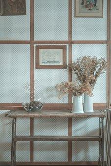 Decoration, Flower Vase, Table, Console Table