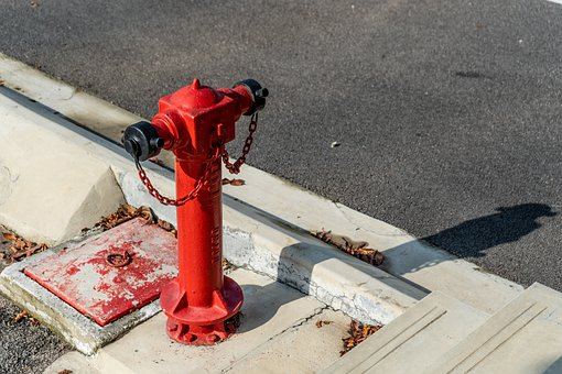Fire Hydrant, Hydrant, Road, Firecock, City, Urban