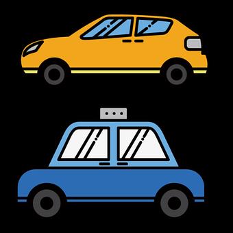 Cars, Taxi, Vehicles, Automobile, Automotive