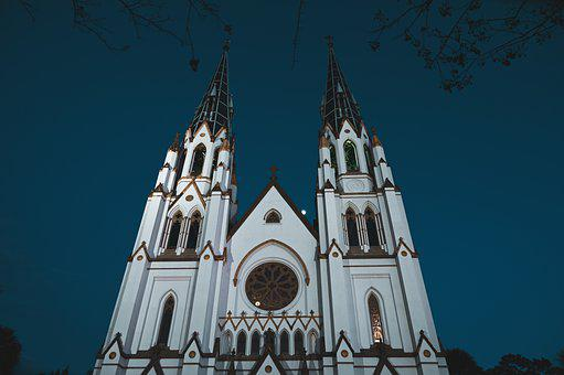 Church, Cathedral, Chapel, Building, Religious