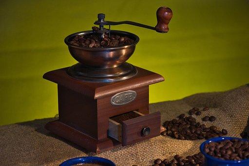 Coffee Grinder, Coffee, Coffee Beans, Manual, Vintage