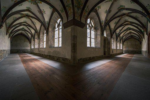 Cloister, Building, Corridor, Alley, Monastery
