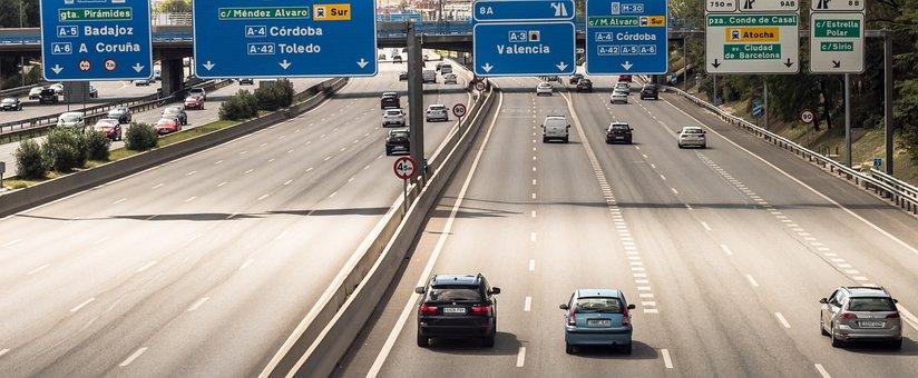 Road, Highway, Cars, Traffic, Bridge, Travel, Exit