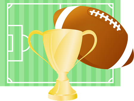 Football, Cup, Gold, Field, Sport, Championship, Winner