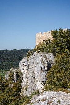 Castle, Ruins, Fortress, Fort, Citadel, Masonry