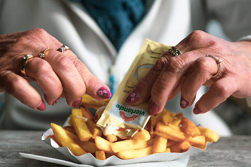 French Fries, Hands, Finger Food, Food, Fries, Potatoes