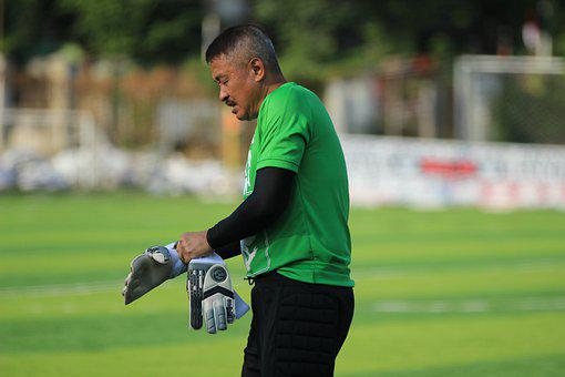 Goal Keeper, Hermansyah, Field, Soccer, Football