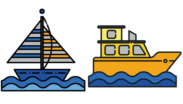 Ship, Boat, Sailboat, Sailing, Icons, Sailboat Icon