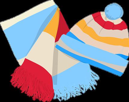Cap, Scarf, Wool, Knit, Yarn, Textile, Thread, Fashion