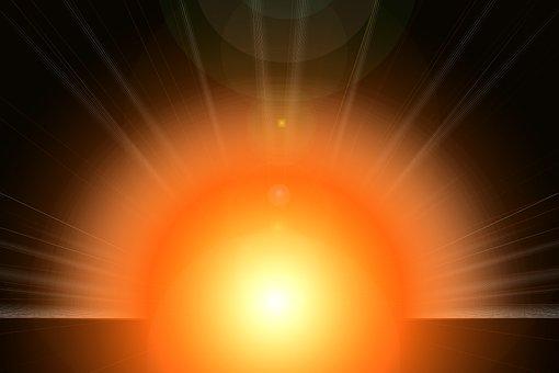 Light, Rays, Background, Orange Light, Light Beam