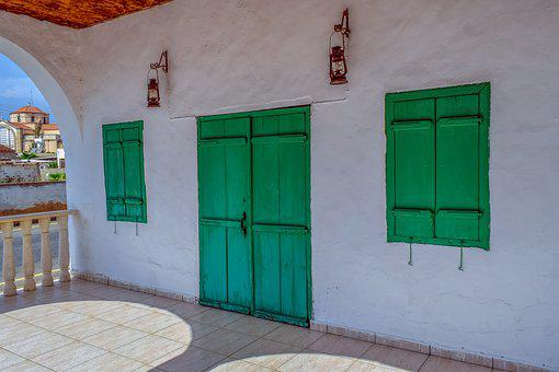 Door, House, Architecture, Patio, Old House