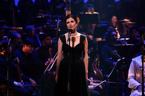 Woman, Concert, Performance, Performer, Singer, Girl