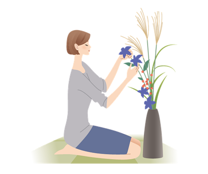 Female, Avatar, Plants, Vase, Flower Arrangement, Human